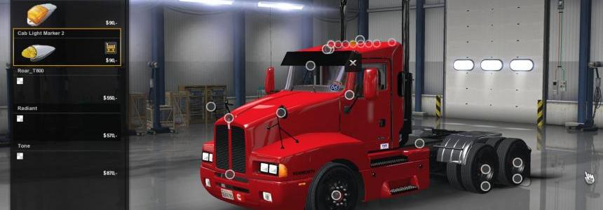 Kenworth T600 Day Cab 0.9.1.3