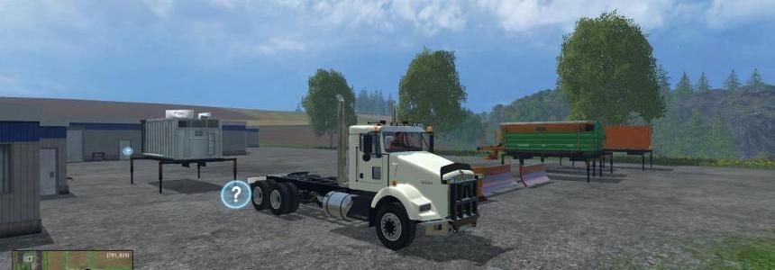 Kenworth T800 Plow Truck (CSI) v1