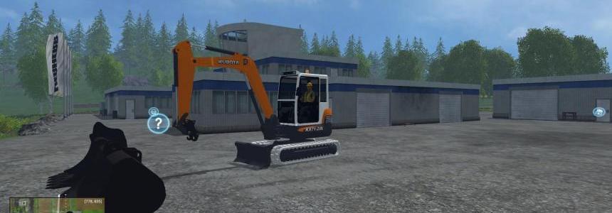 KUBOTA KX71 v1