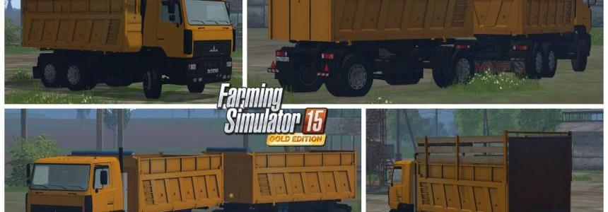 Maz 6501 and Trailer v1.0