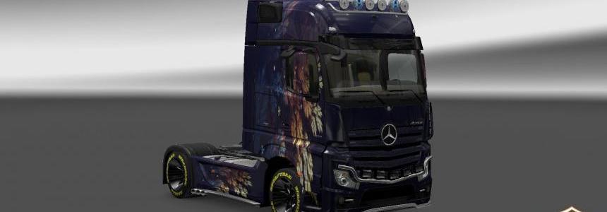 Mercedes Actros 2014 Vetv v2 Skin 1.22