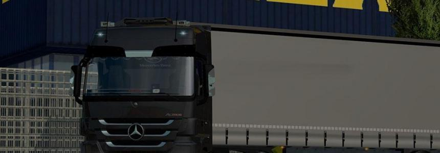 Mercedes Actros MP3 1.22.x