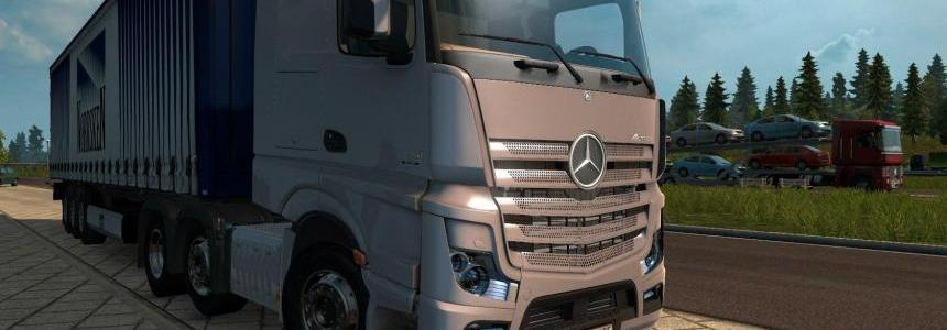 Mercedes Actros MP4 1.22