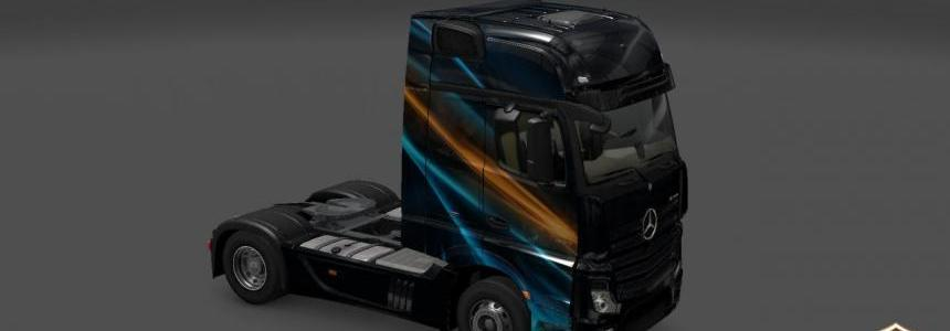 Mercedes Actros MP4 Abstrakcia v1