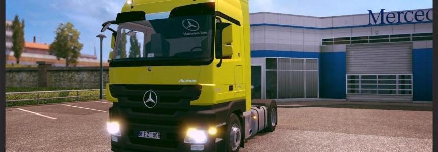 Mercedes Actros MPIII 1.22