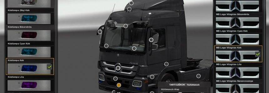 Mercedes Benz Actros MP3 Tuning Update 1.22