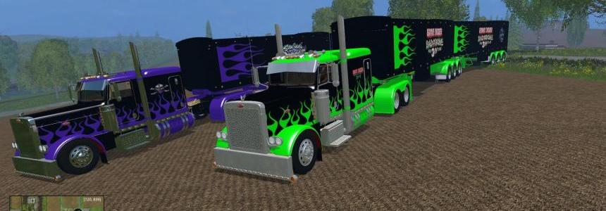 Monster Jam Truck & Trailer Pack v1.0