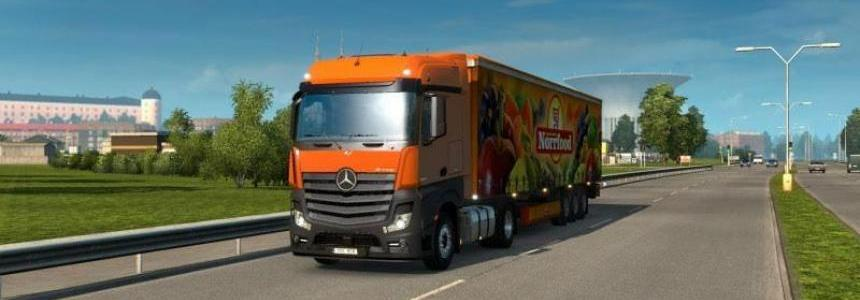 New Actros plastic parts and more v2.3