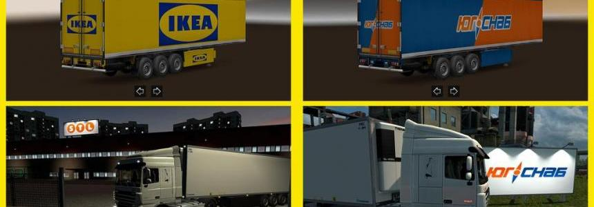New Companies & Trailers for RusMap 1.22