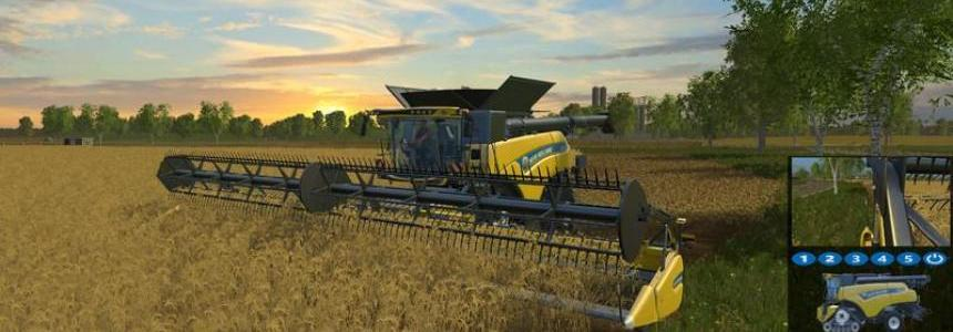 New Holland CR10.90 monitored v1.0
