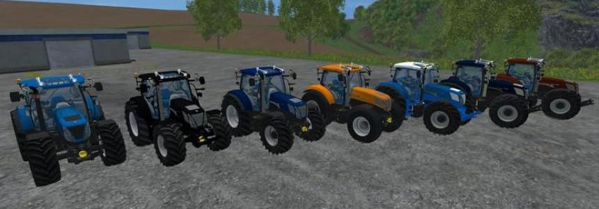 New Holland T7 270 pack v1.0
