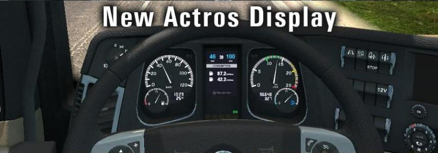 New Mercedes Actros Display