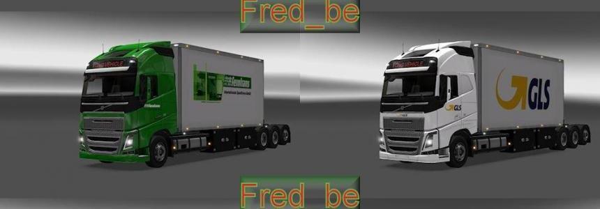 Pack Volvo FH 2012 Tandem (25 meters) 1.22.x