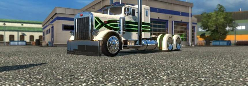 Peterbilt 351 Green Envy Skin 1.22