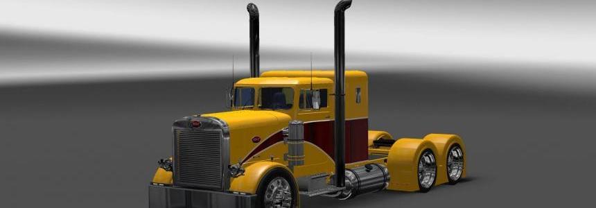 Peterbilt 351 Yellow Peril Skin 1.22