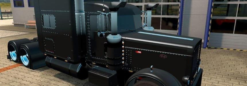 Peterbilt 389 Black Interior 1.22