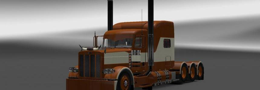 Peterbilt 389 Brown/Beige v2.0