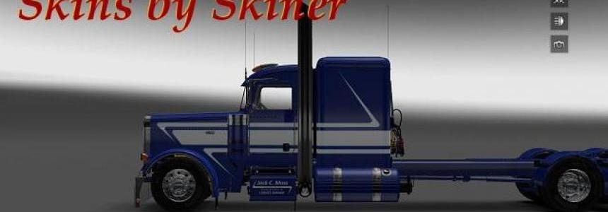 Peterbilt 389 Jack C. Moss Trucking Inc. skin