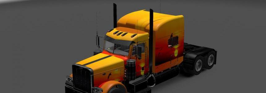 Peterbilt 389 Sunset Skin 1.22