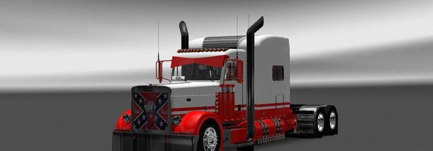Peterbilt 389 V2.0 Rebel Pete Skin