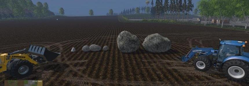 Placeable Rocks