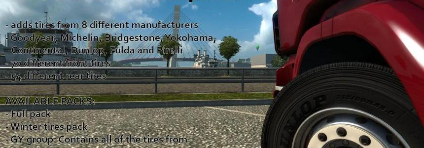 Real Tire addon for 50kedas Wheel pack v3.5