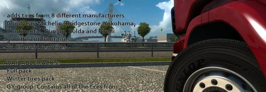 Real Tire addon for 50kedas Wheel pack v4.2