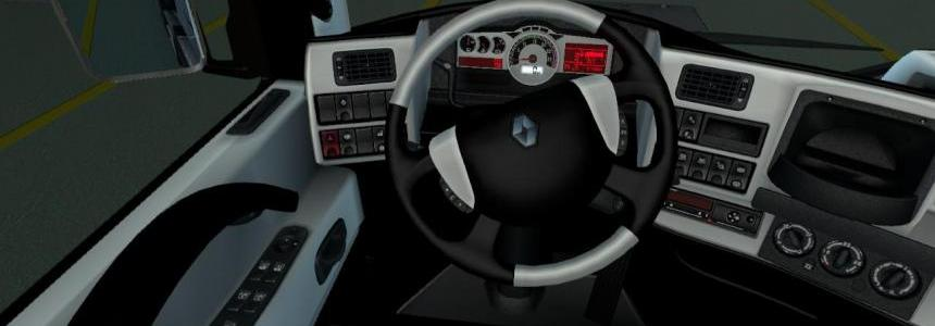 Renault magnum black-white interior 1.22