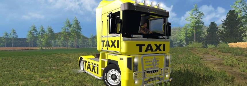 Renault Magnum Taxi Edition v1.0