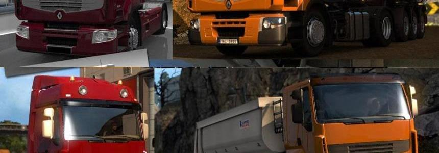 Renault Premium Accessory & Re-rendered Textures v1.2