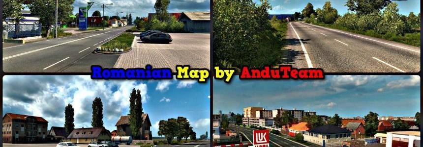 Romania Map AnduTeam v1.0.1