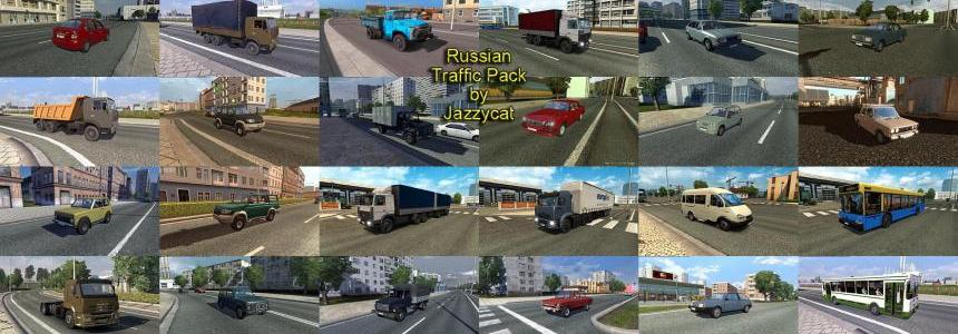 Russian Traffic Pack by Jazzycat  v1.5