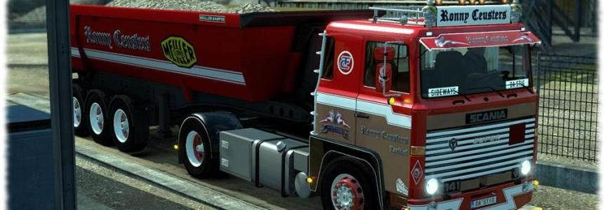 Scania 1 Series Ronny Ceusters Skin