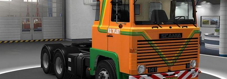Scania 111-141 Skin Pack 1.22