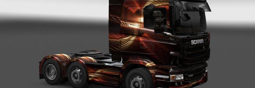 Scania R Fentezi Skin 1.22