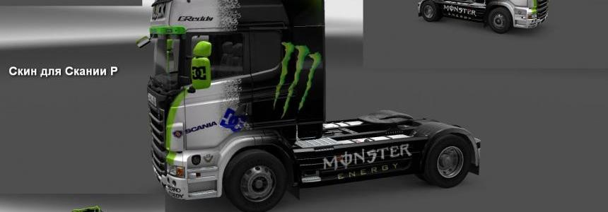 Scania R & Streamline Block Subaru Skin 1.22