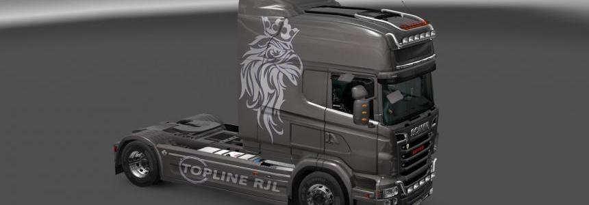 Scania R & Streamline RJL Metallic Skin  1.22