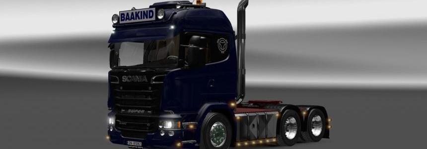 Scania R620 Baakind Trans 1.22