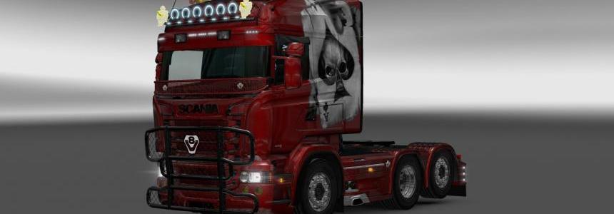 Scania RJL Aces Skin 1.22