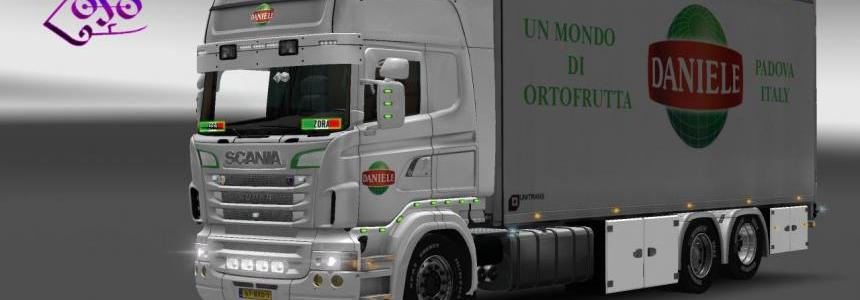 Scania RJL BDF Tandem Daniele Import Export