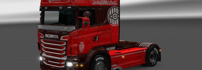 Scania RJL Big Viking Skin [LazyMods]
