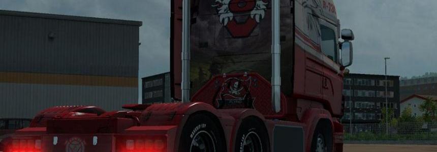 Scania RJL Flyd Skin 1.22.x