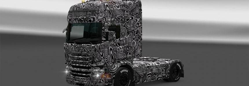 Scania RJL Test Mule Skin