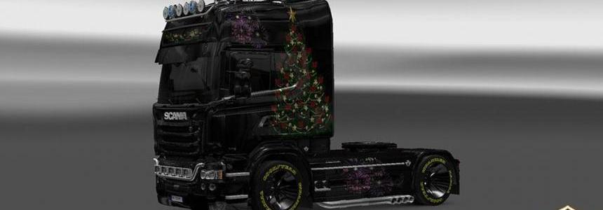 Scania Streamline Happy New Year Skin