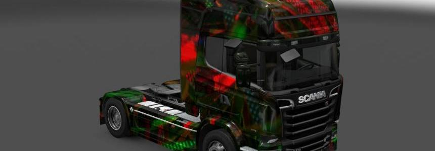 Scania Streamline New Year Skin 1.22
