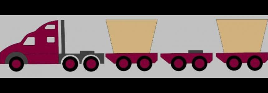 Schematic overlay images Roadtrain v1.0