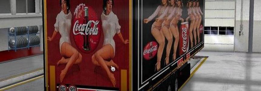 Schmitz Coca Cola Trailer