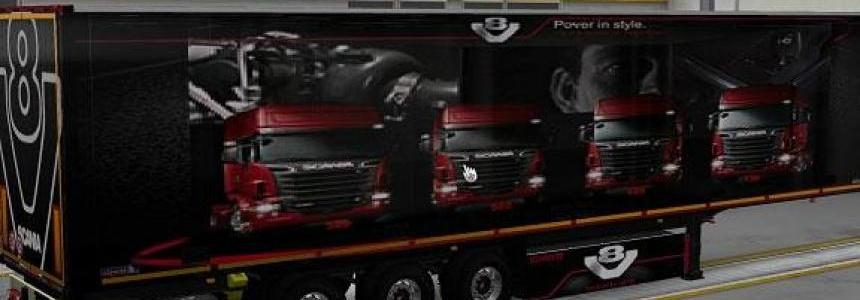 Schmitz Scania V8 Power in Style Trailer