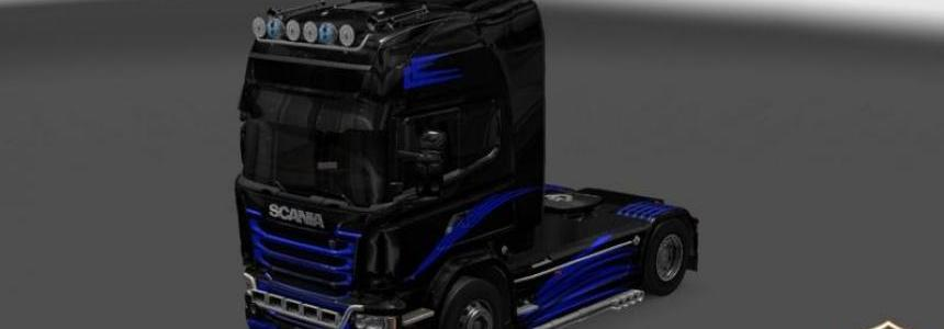 Skin CD v3 for Scania Streamline 1.22.x