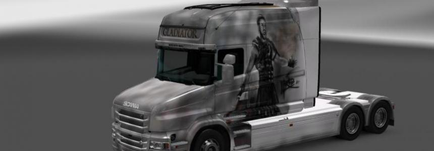 Skin Gladiator for Scania T RJL 1.22.х